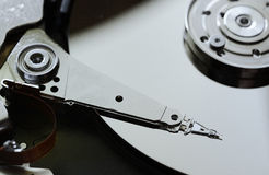 Computer Hard drive  open Royalty Free Stock Photo