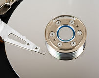 Computer Hard Drive Platter Stock Images