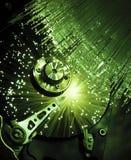 Computer hard drives, Royalty Free Stock Image