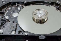 Computer hard drives damaged Stock Image