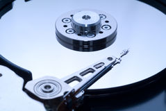 Computer harddrive. Royalty Free Stock Image