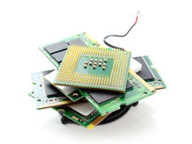 Computer hardware Royalty Free Stock Images
