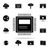 computer hardware icon. Web Development icons universal set for web and mobile vector illustration