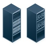 Computer Hardware Icons Set - Design Elements 55l Stock Image