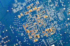 Computer Hardware Motherboard Stock Image