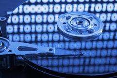 Computer hdd Stock Photography