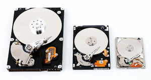 Computer HDD Royalty Free Stock Photography