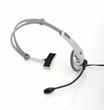 Computer headset Royalty Free Stock Photos