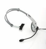 Computer headset royalty free stock photos