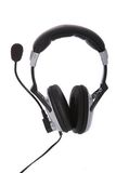 Computer headset Royalty Free Stock Photography