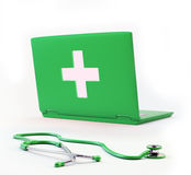 Computer health concept Royalty Free Stock Images