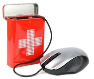 Computer health concept Stock Photo