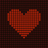 Computer heart Stock Photo