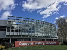 Computer History Museum, Mountain View, California Royalty Free Stock Photography