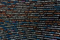 Computer HTML code Stock Photo