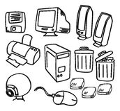 Computer icon art Stock Photography