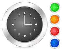 Computer icon clock Royalty Free Stock Photo