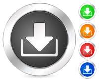 Computer icon download Stock Photo