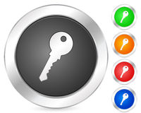Computer icon key Royalty Free Stock Images