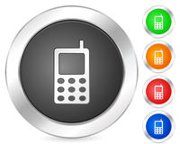 Computer icon mobile phone Stock Images