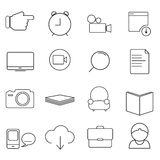 Computer icon set 05. This file is computer icon Stock Photo
