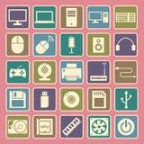 Computer icon Stock Photos