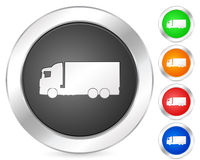 Computer icon truck Royalty Free Stock Images