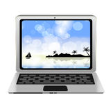 Computer icon vector illustration Royalty Free Stock Photo