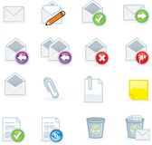 Computer icons Stock Photography