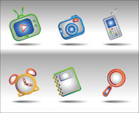 computer icons Stock Images