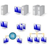Computer icons. Specification set of computer icons Royalty Free Stock Photography