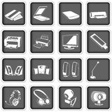 Computer icons 2 Stock Images