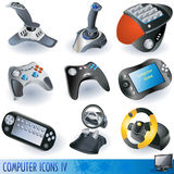 Computer icons 4 Stock Image