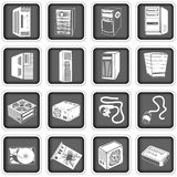 Computer icons 5 Royalty Free Stock Photo