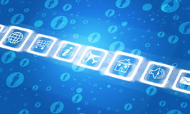 Computer icons Stock Image