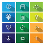 Computer icons Flat line windows 2 Stock Photography