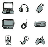 Computer Icons Freehand 2 Color Royalty Free Stock Images