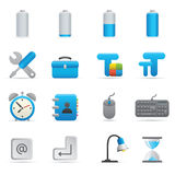 Computer Icons | Indigo Series 01 Stock Images