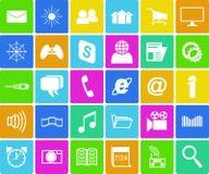 Computer icons set. Stock Image