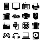 Computer Icons Set. Vector Royalty Free Stock Images