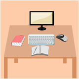 Computer illustration Concept Royalty Free Stock Images