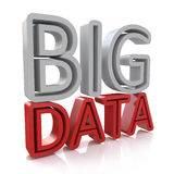 Computer innovation technology Big Data on white Stock Images