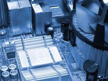 Computer inside Stock Image
