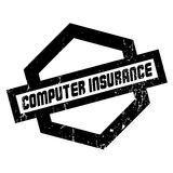 Computer Insurance rubber stamp Royalty Free Stock Photo
