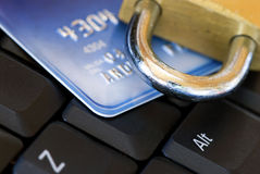 Computer internet  security Stock Photos