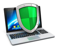 Computer and internet security concept Royalty Free Stock Photo