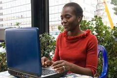 Computer job Stock Image