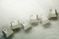 Computer key Stock Images