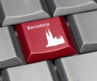 Computer Key - Barcelona Stock Photos