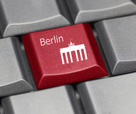Computer Key - Berlin Royalty Free Stock Photography